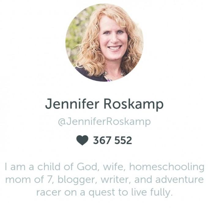 Jennifer Roskamp on Periscope