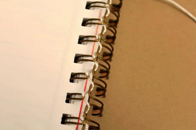 Малък трик за тетрадки със спирала