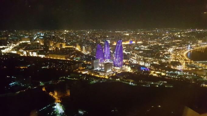 Баку от птичи поглед
