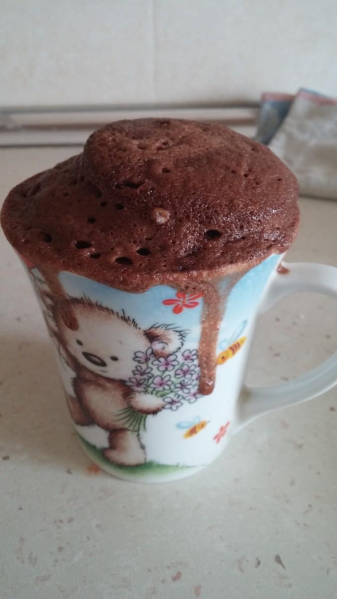 Кексче в чаша