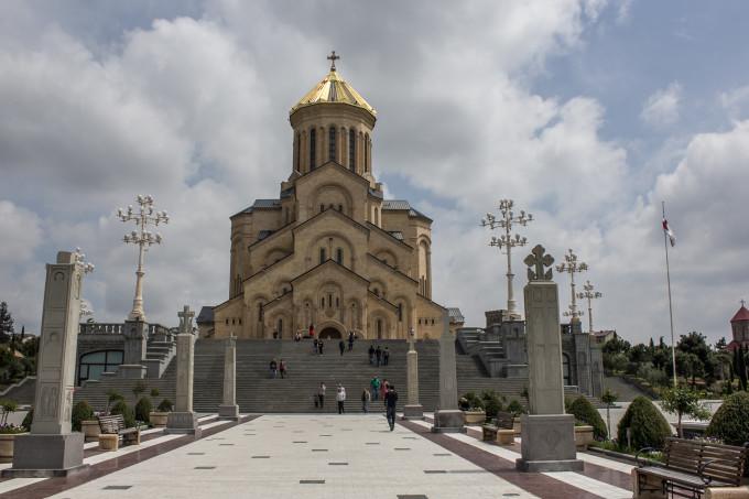 """Катедралата """"Света Троица"""". Тбилиси"""