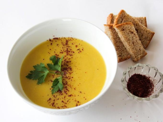 Лесна крем супа от тиквички