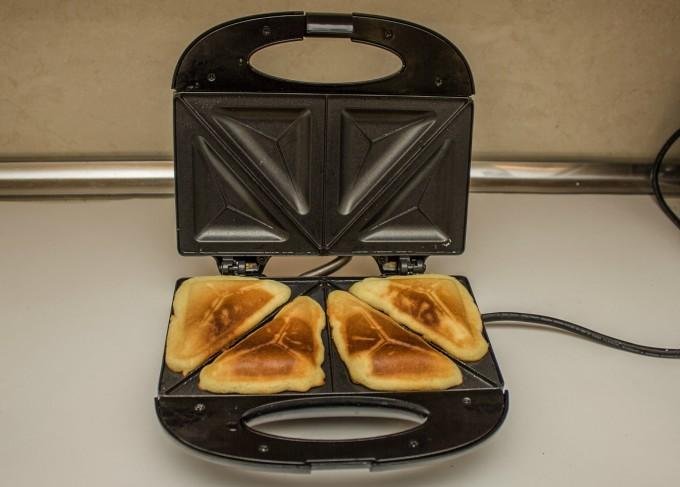 Кексчета в тостера за сандвичи