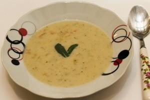 Страхотна бърза супа с топено сирене
