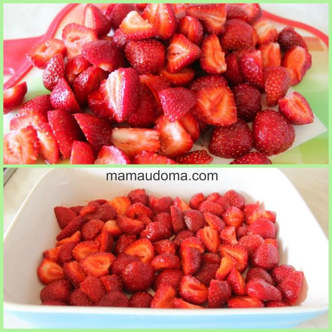 Ягоди, ягодов коблер
