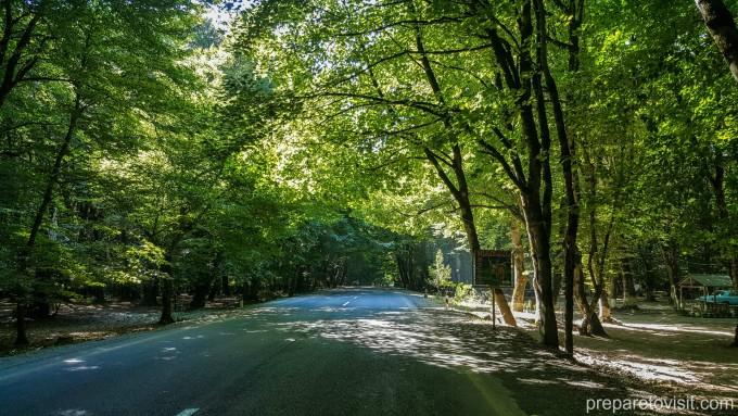път в Азербайджан