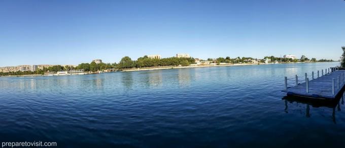 река Кура, Азербайджан
