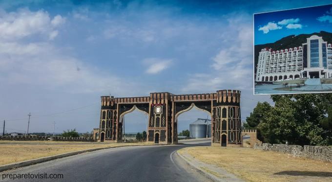 Градската порта - Шеки, Азербайджан