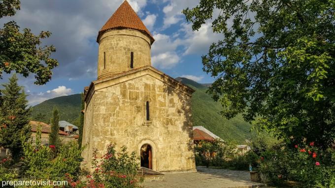 Албанска църква, с. Киш, Азербайджан