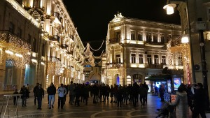 Новогодишен пазар в Баку (+Видео)