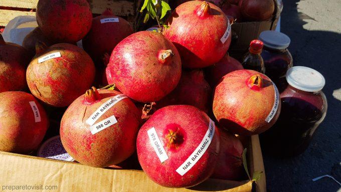 Pomegranate Festival in Goychay, Azerbaijan
