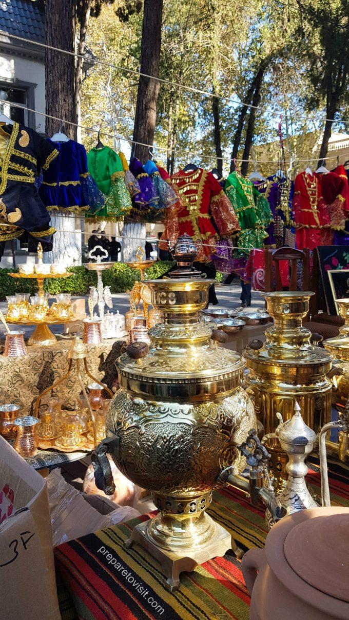 Празник на нара в Гьойчай, Азербайджан