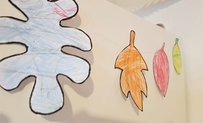 Занимавки за деца - есенна украса