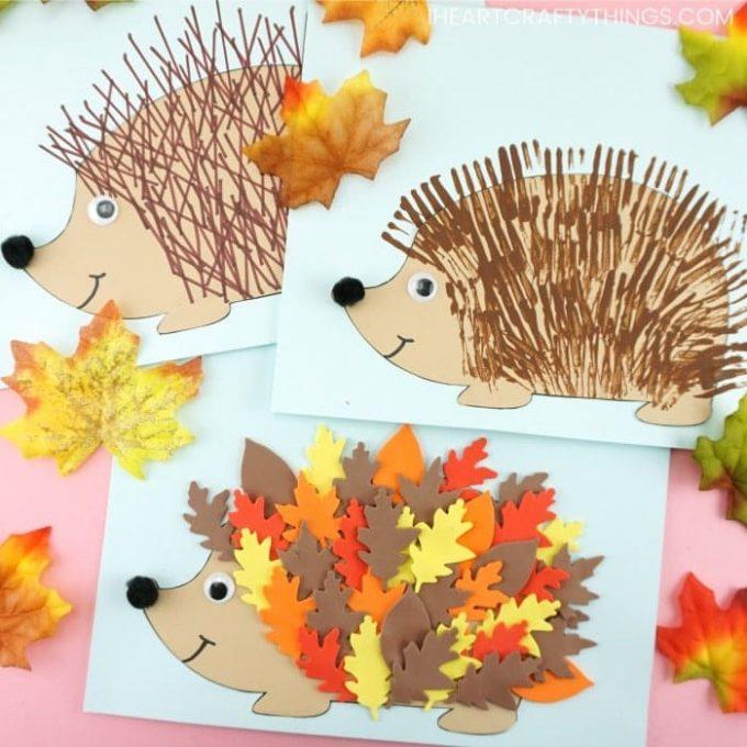 Есенни занимавки за деца